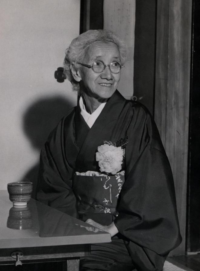 1954年当時の白蓮