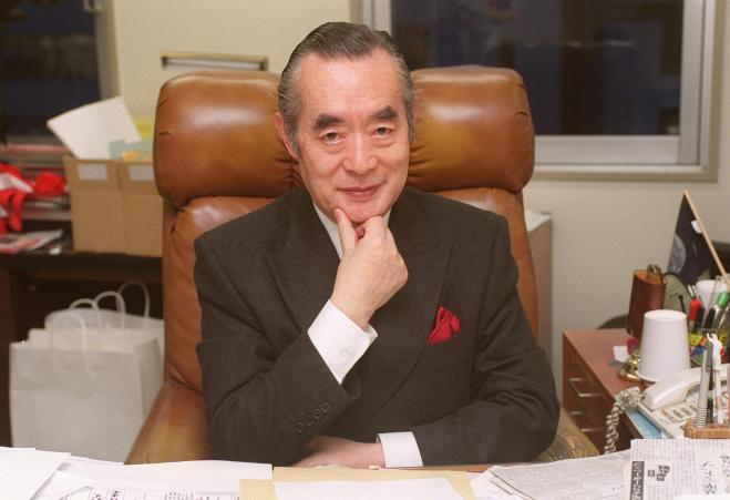 ドクター・中松氏=1999年3月30日