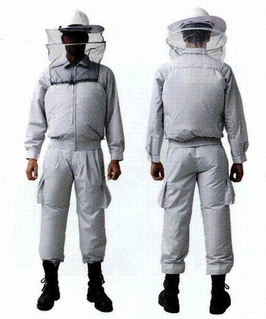 これは玄人向けすぎる! 防蜂用空調服