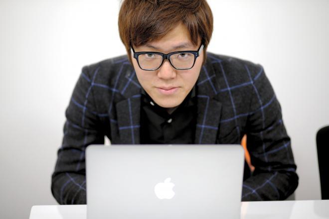 HIKAKINさん=2014年3月27日、東京都渋谷区、杉本康弘撮影