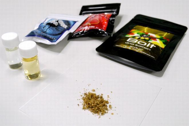 指定薬物が含まれていた脱法ドラッグ