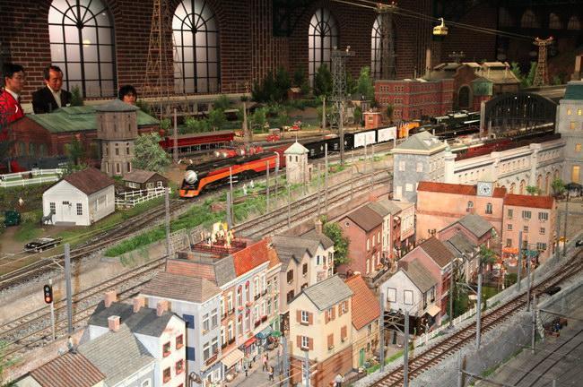 模型だけでひとつの街ができている!