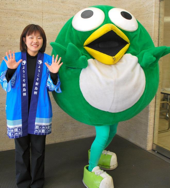 前代未聞、ラジオ番組でわいせつ発言。謹慎を余儀なくされた、佐賀県鳥栖市のとっとちゃん=2011年3月3日