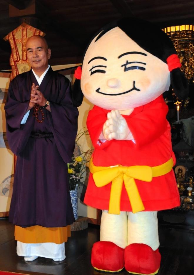 「せんとくんがキモい」と、僧侶有志が「なーむくん」を擁立。まるで分裂選挙=2008年10月14日