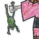 鳥取城の籠城戦マスコットキャラクターのかつ江さん