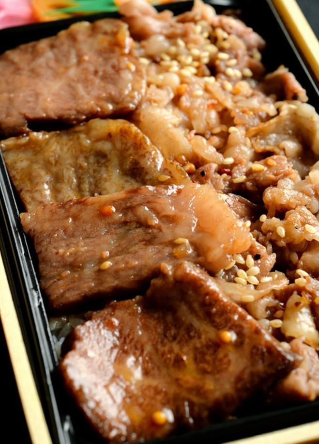 カイロ堂のカルビ焼き肉弁当