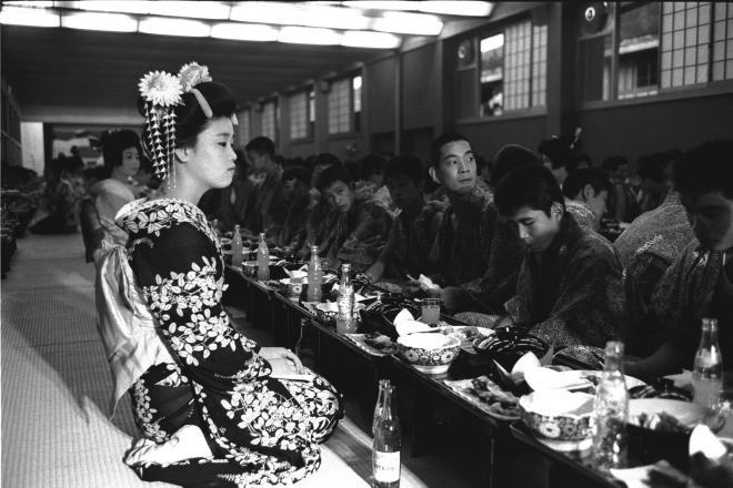 1963年8月、横浜のバネ製造会社あげての410人の鬼怒川温泉旅行