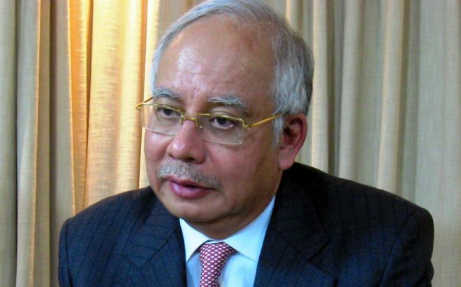 マレーシアのナジブ首相=2011年11月17日