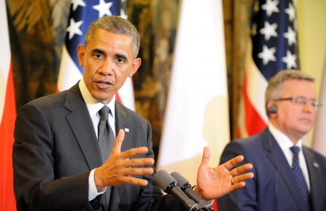 オバマ米大統領=2014年6月3日