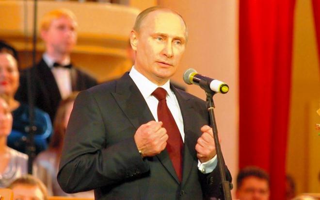 プーチン大統領=2013年12月15日