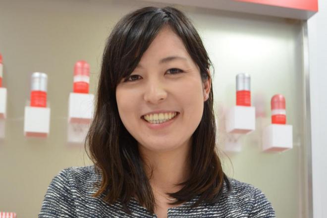 TENGA広報の簑浦いづみさん(27)
