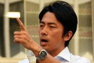 小泉進次郎・復興政務官。写真は2013年7月