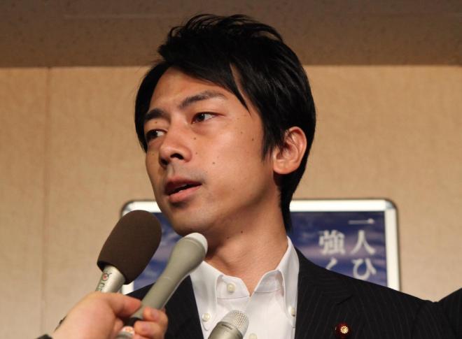 小泉進次郎・復興政務官。写真は2012年8月