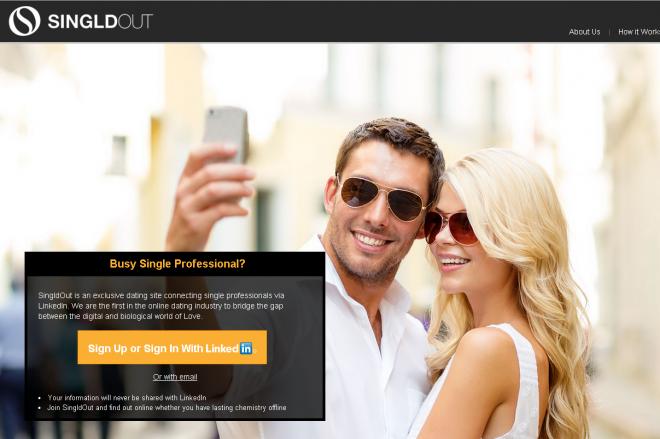 SingldOutコムのトップページ