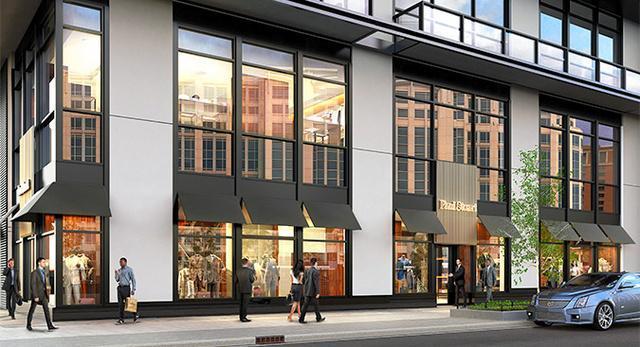 三井物産が米ワシントンに出す「ポール・スチュアート」の店舗イメージ