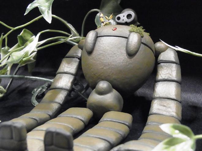 「天空の城ラピュタ」のロボット。平和な感じです