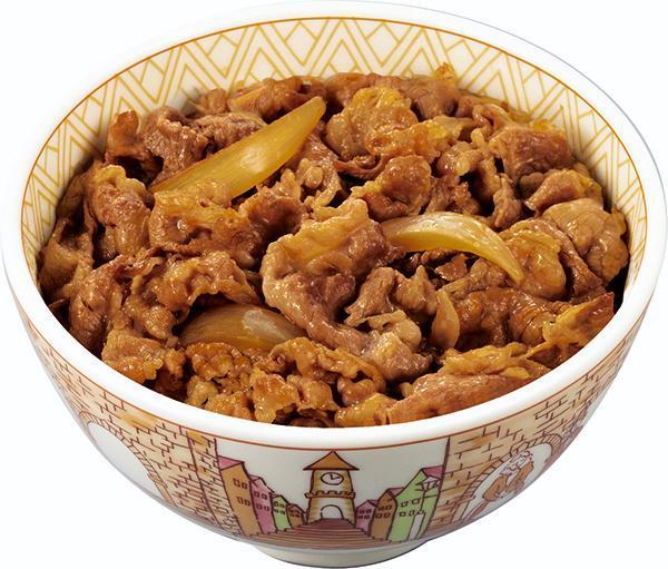 「すき家」の牛丼並盛 =ゼンショー提供