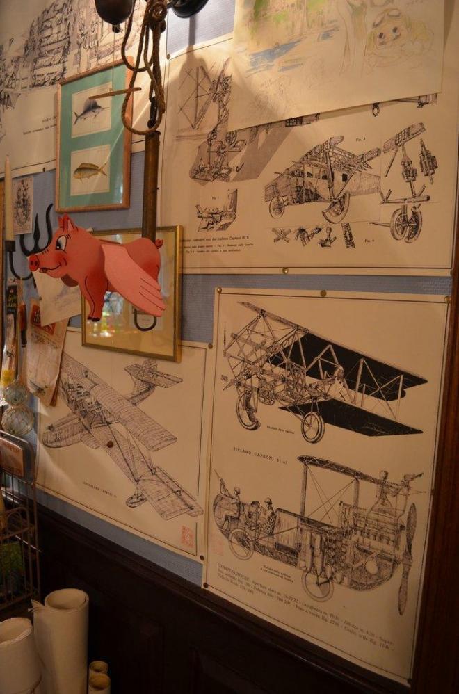 カプローニ社の飛行機の図