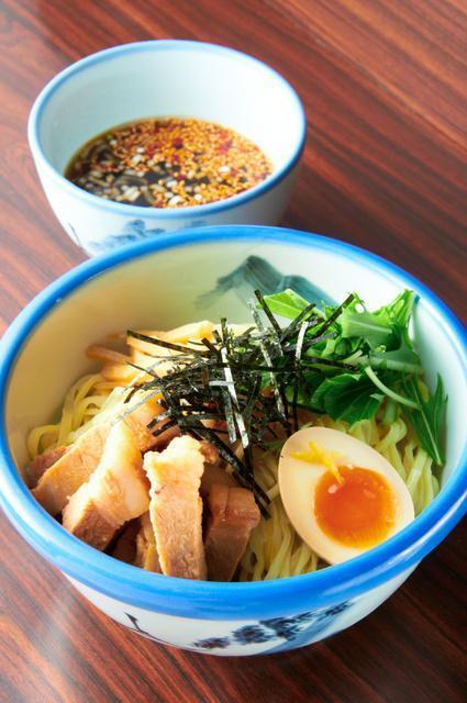 「AFURI」のつけ麺・柚子露
