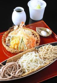 天ぷら三色そば