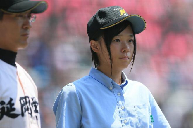 2013年夏の甲子園に立った延岡学園記録員・牧野直美さん