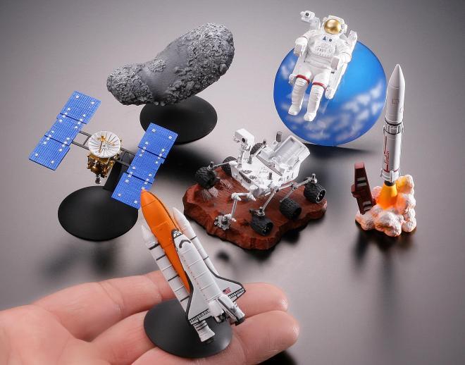 宇宙博2014で販売している会場限定オリジナルフィギュア全6種