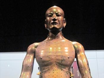 江戸時代の人体模型(銅人形)