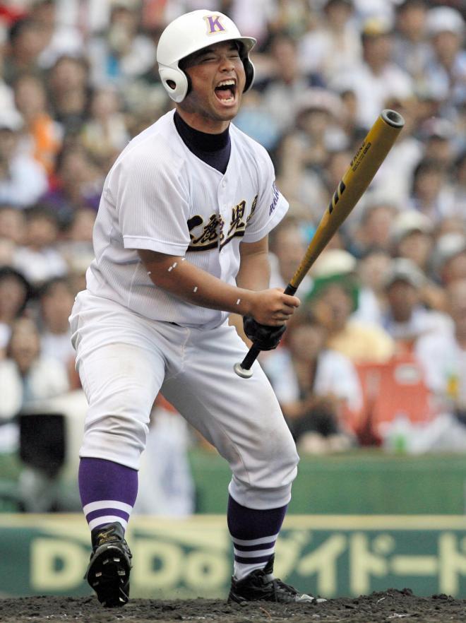 鹿児島工・今吉晃一選手=2006年夏、阪神甲子園球場