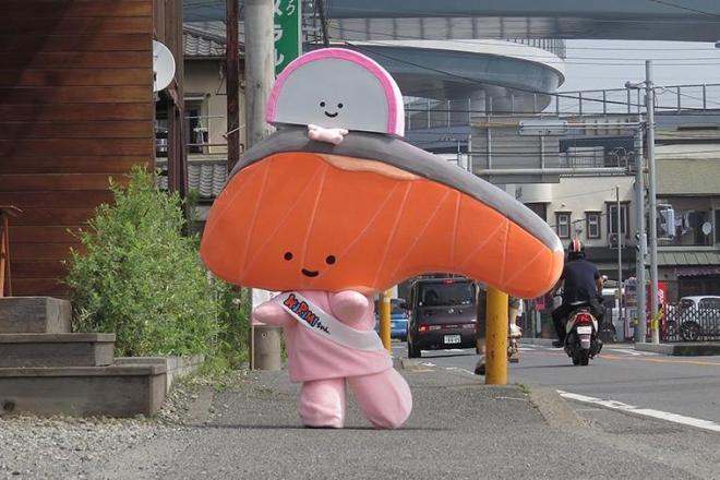切り身のキャラクター「KIRIMIちゃん.」