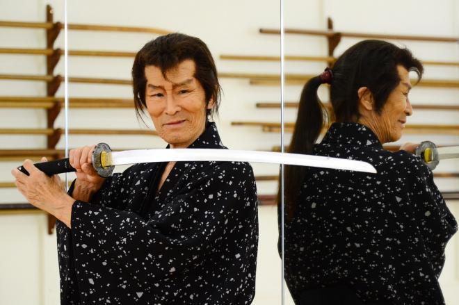 ファンタジア国際映画祭で最優秀主演男優賞を受賞した福本清三