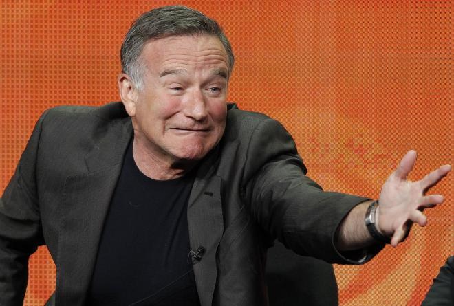昨年、米テレビドラマの記者会見ではおどけてみせた。2013年7月