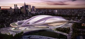 ザハ・ハディドの新国立競技場案