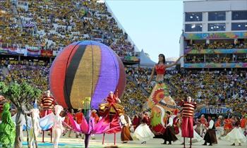 ブラジル・サンパウロで12日、W杯が開幕した=2014年6月12日