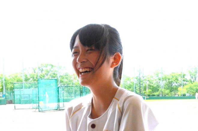 春日部共栄の三宅麻未さん=高橋克典撮影
