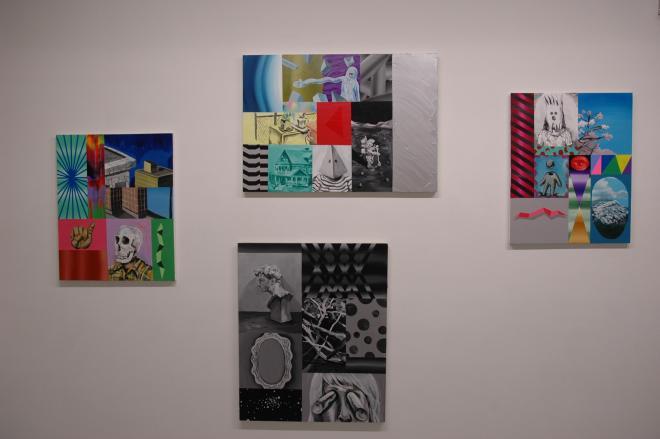 「切断」展の展示風景