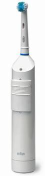 1991年、カップ型のブラシが左右反転する「D5」発売。ついに手磨きを超える歯垢除去能力が、臨床研究で実証される
