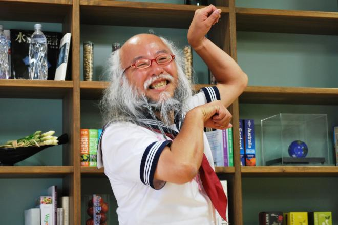 「セーラー服おじさん」こと小林秀章さん