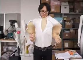 開発担当のユカイ工学・巽孝介さん