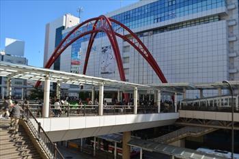 JR立川駅北口=2013年10月27日