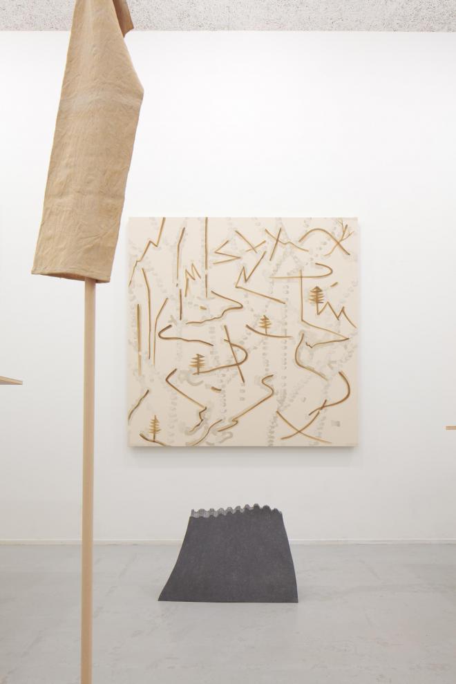 「 P.I.C.K.U.P」展|2012年|大野綾子、戸谷森、深代満久|秋山画廊 会場風景 photo:Hayato wakabayashi