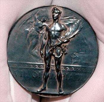 五輪史上、日本のメダル第1号となった熊谷一弥の銀メダル