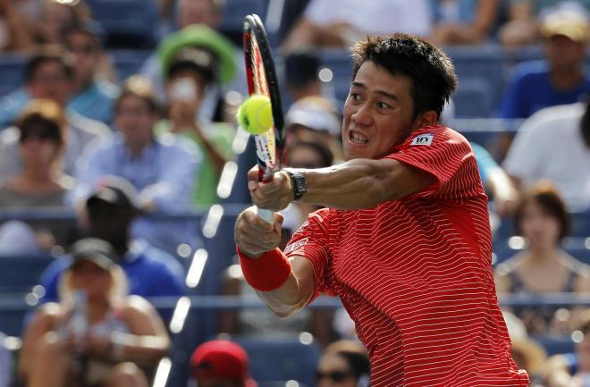 テニス全米オープンでの錦織圭選手