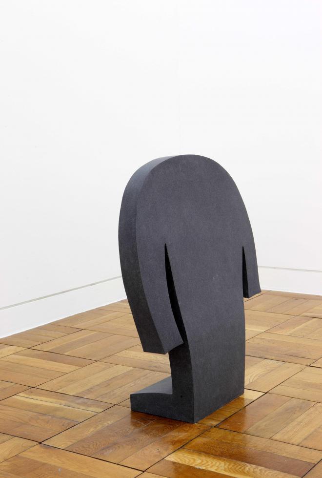 コーディネイト(あたたかい)|2013年|黒御影石|w60×d20×h70cm photo:Hako Hosokawa