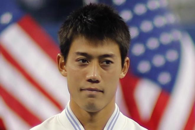 全米オープンで準優勝した錦織圭