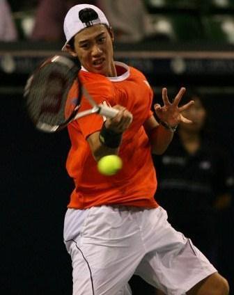 AIGオープン男子シングルス1回戦で敗退した錦織