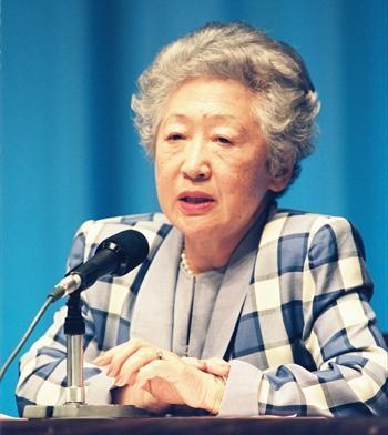 元国連難民高等弁務官の緒方貞子氏