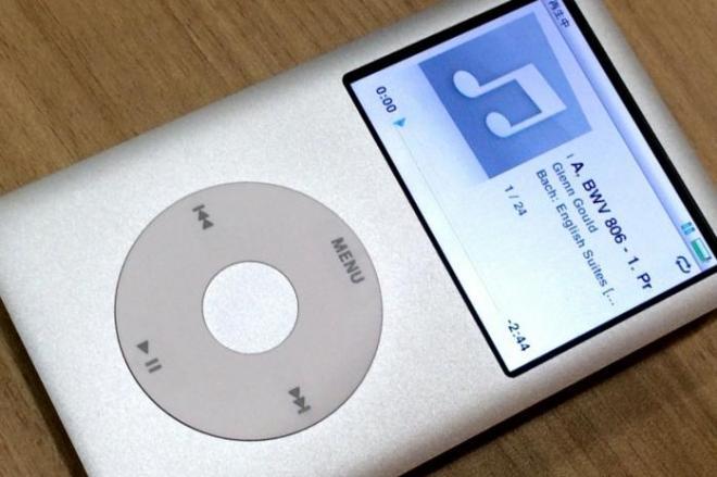 ラインナップから消えたiPod classic