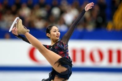 フィギュアスケート・全日本選手権フリーで=さいたまスーパーアリーナ、2013年12月23日、飯塚晋一撮影