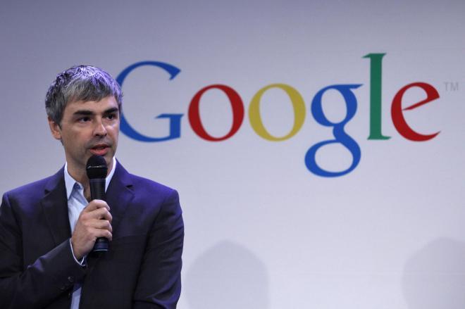 グーグル創設者のラリー・ペイジ氏