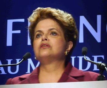 ブラジルのルセフ大統領